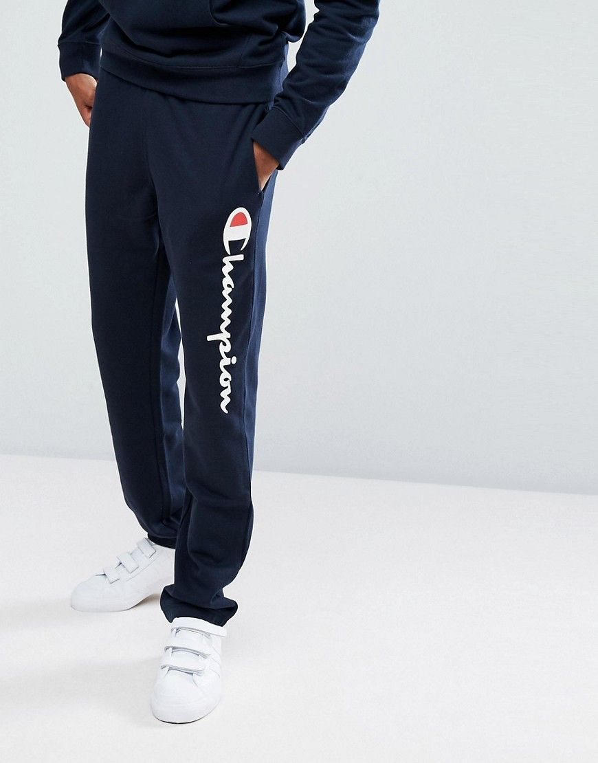 046d8ed231ce7 CHAMPION LOGO JOGGERS - NAVY.  champion  cloth    fashionhoodiemens ...