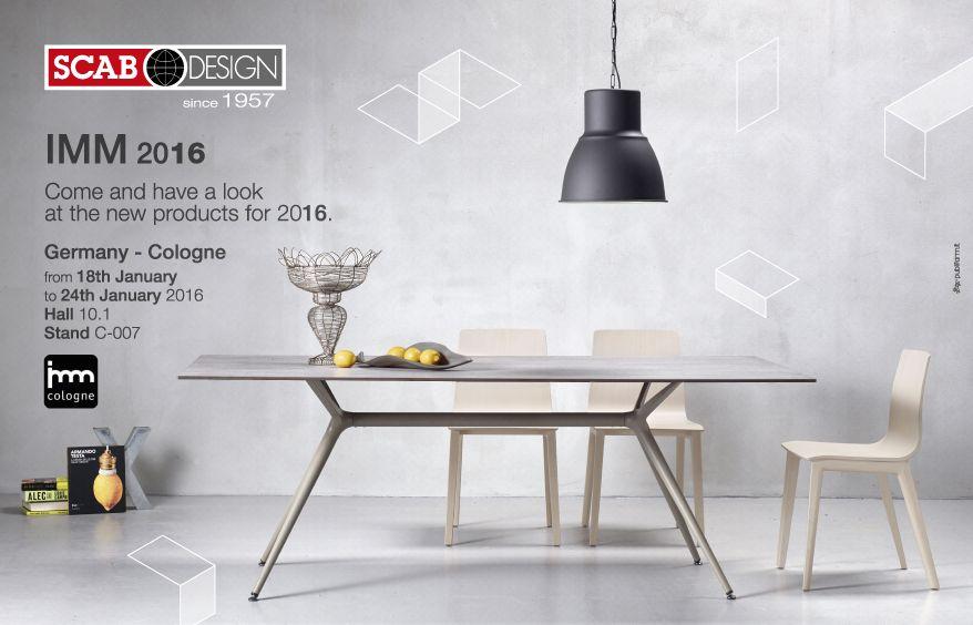 SCAB Design Produttore di Sedie, Tavoli, Sgabelli