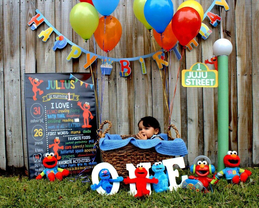 Sesame street/elmo photoshoot Elmo birthday, Elmo