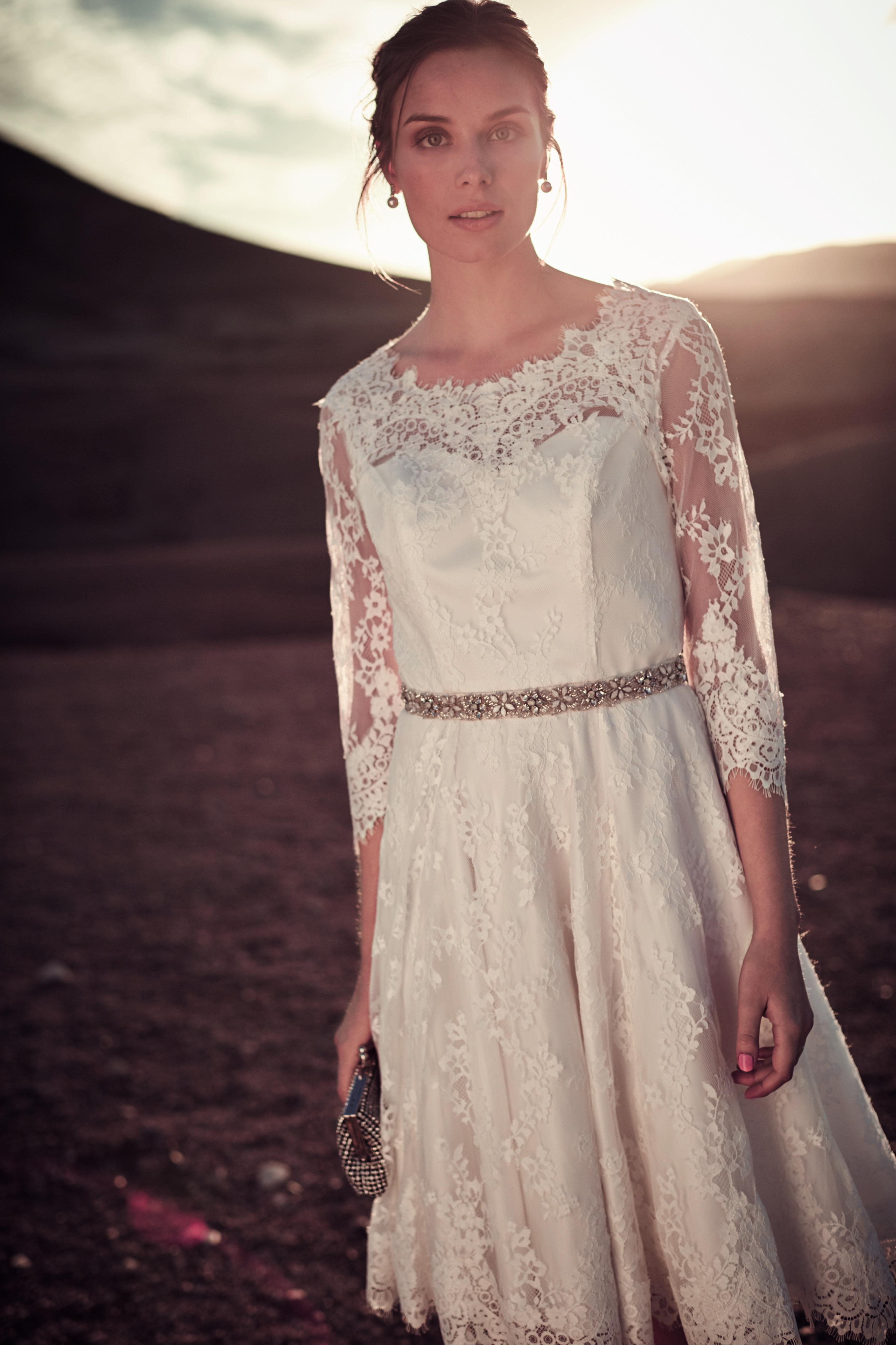 Cressida Wedding Dress. This vintage inspired lace prom wedding ...