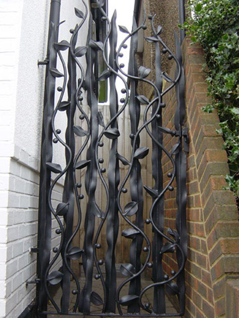 Handmade Gates   Ornamental Gates   Artistic Gate Over The Years Bex Has  Createdu2026
