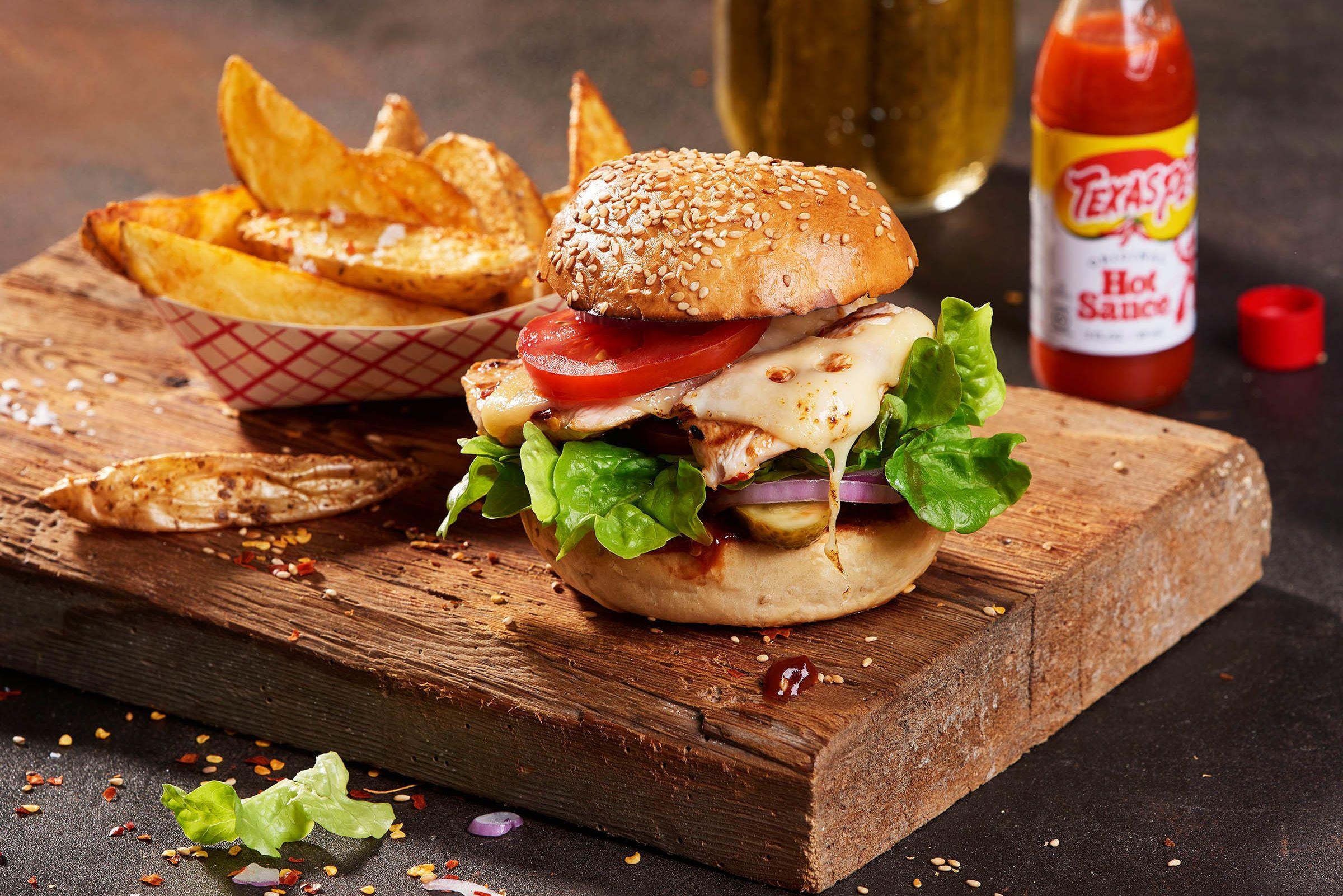 Leerdammer Rezepte Rezept Rezepte Snack Ideen Hahnchen Burger