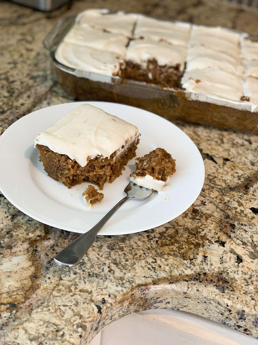 Gluten Free Pineapple Carrot Cake Carrot cake, Food