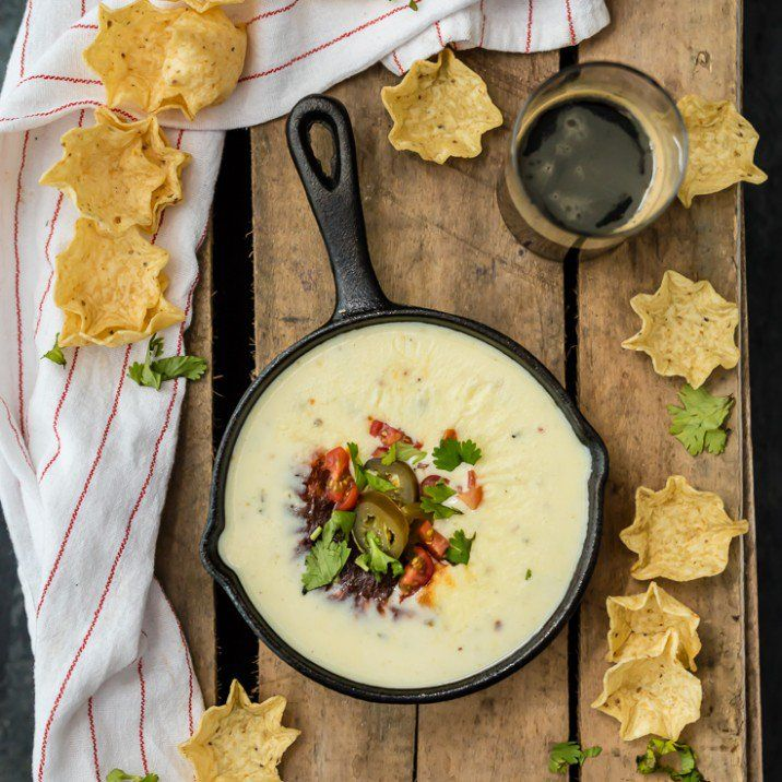 Easy Restaurant Style WHITE QUESO  - Tastes just like queso dip at Mexican restaurants