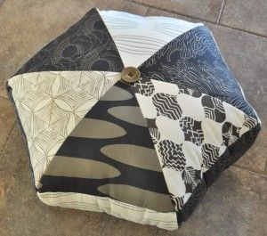 Super cute floor pillow floor cushion. Make your own with the ...