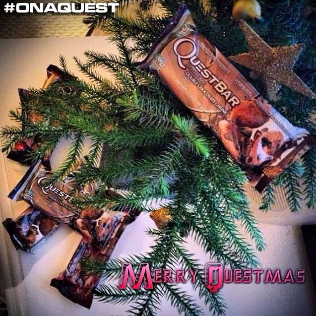 Merry Questmas! Perfect stocking stuffers for those health conscious family members  ;)