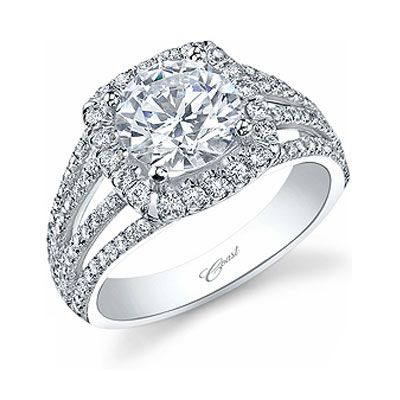 Fire Ice Diamond Gallery Coast Engagment Ring FIRE AND ICE