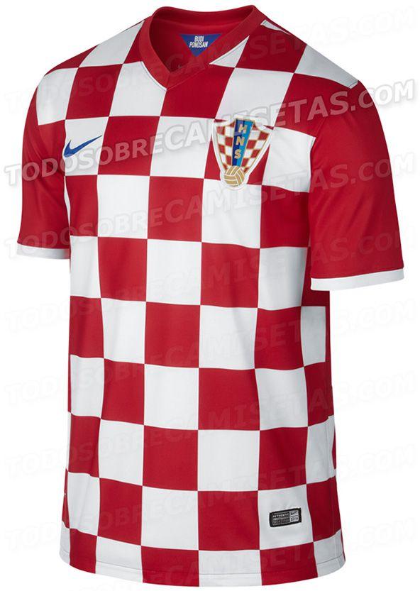 5099f700a 2014 World Cup Kits  Croatia Home  WorldCup2014  Brazil2014  Football