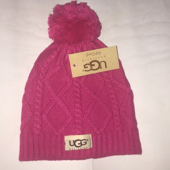 6c6419a91e0d0 Winter beanie Brand new. Color is hot pink. by 8 inches UGG Accessories Hats