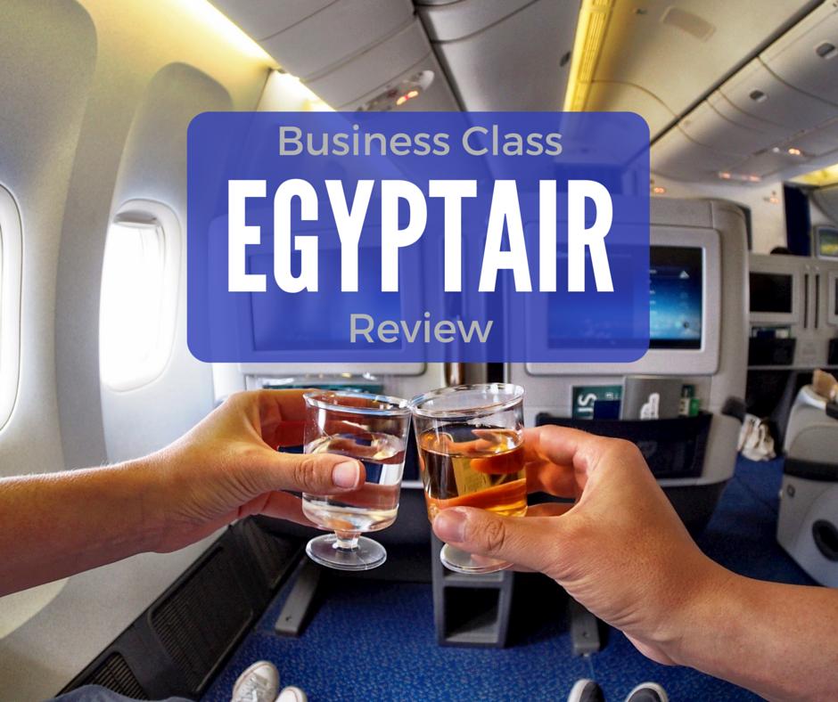 EgyptAir Business Class Review Business class, Business
