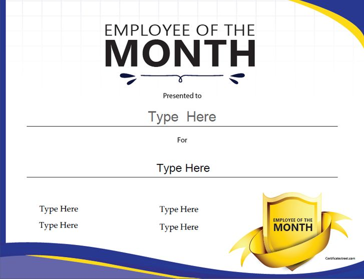 employee the month template best business find these awards funny - employee of the month certificate template free