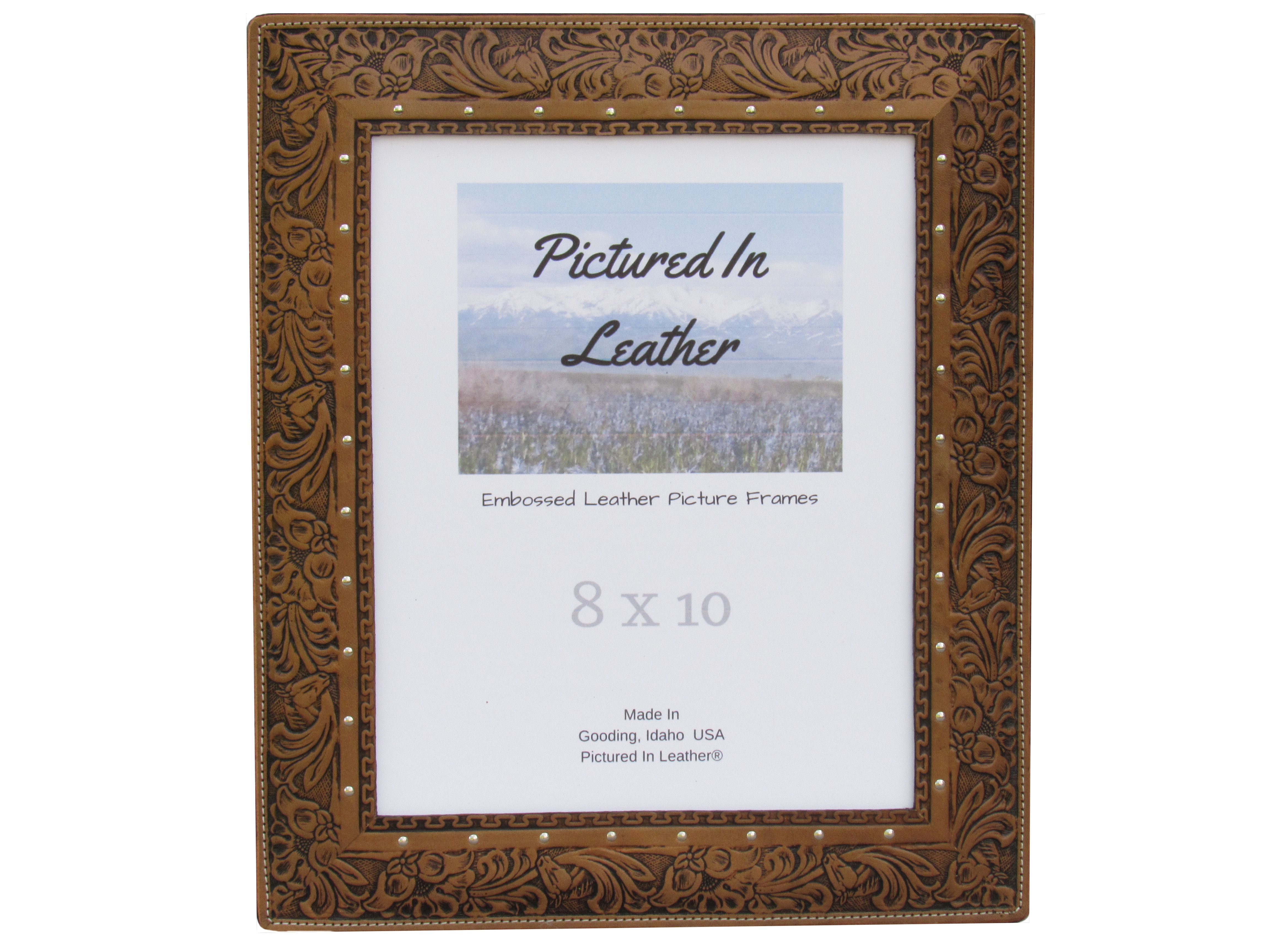 $56 How about an 8x10 leather picture frame for a gift for that ...