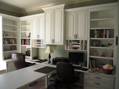 Innovative Home Office Ideas: Indianapolis Home Office Cabinets