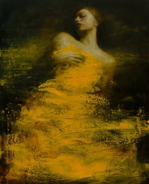 Ophelia oil study 5 by Mark Demsteader #oilonboard #figurativeart #artpainting#characterart #figurativepainting