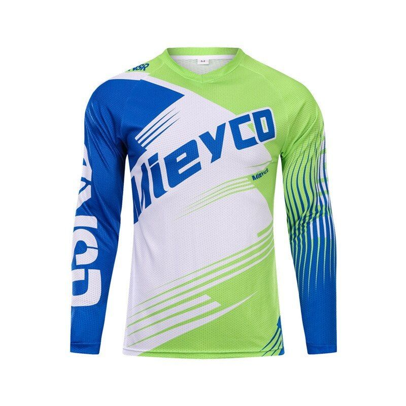 2019 Long Sleeve Mountain Bike T Shirt Mtb Jersey Sport Jersey