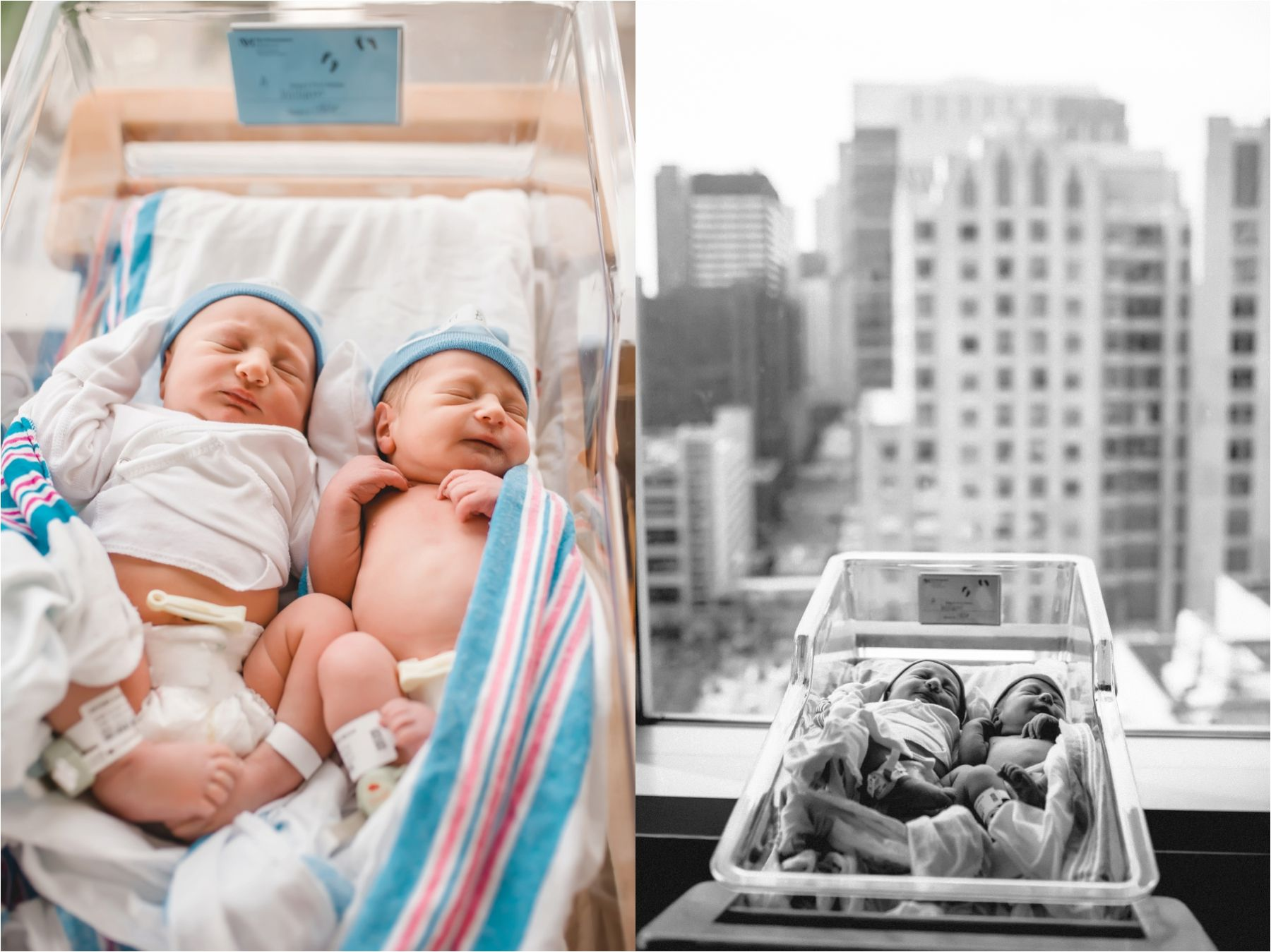Hannah drews photography newborn twins fresh 48 prentice hospital photographer chicago