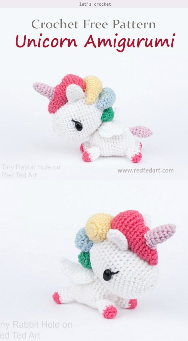 Photo of Amigurumi Unicorn Crochet Free Pattern