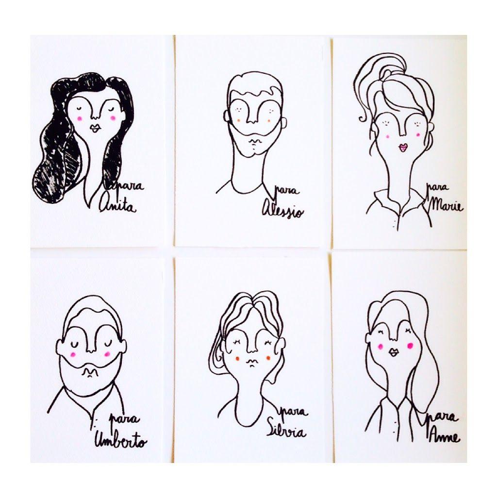 Moderno Retrato Para Colorear Viñeta - Dibujos Para Colorear En ...