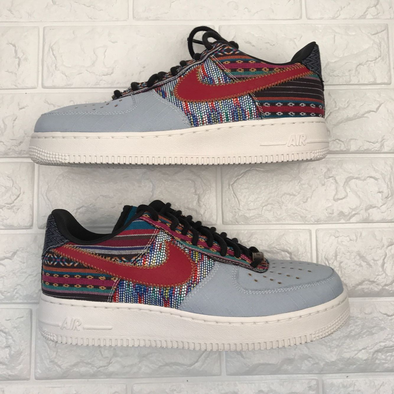 NIKE AIR FORCE 1 LOW 07 LV8 ARMORY BLUE GYM RED 823511 401 #nike #