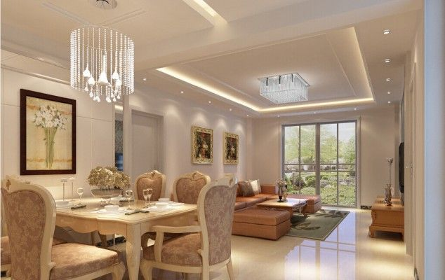 16 Admirable Suspended Ceiling Designs To Create An Enviable First Impression Ceiling Lights Living Room Dining Room Ceiling Lights Modern Living Room Lighting