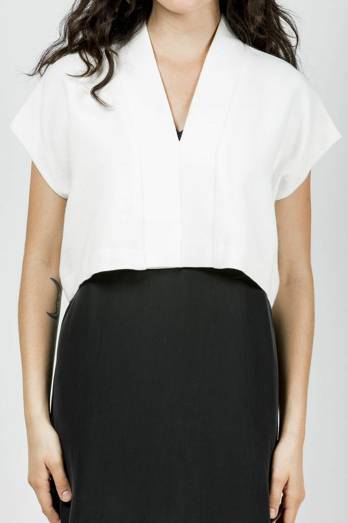 Cropped Top, Ivory #horsesatelier