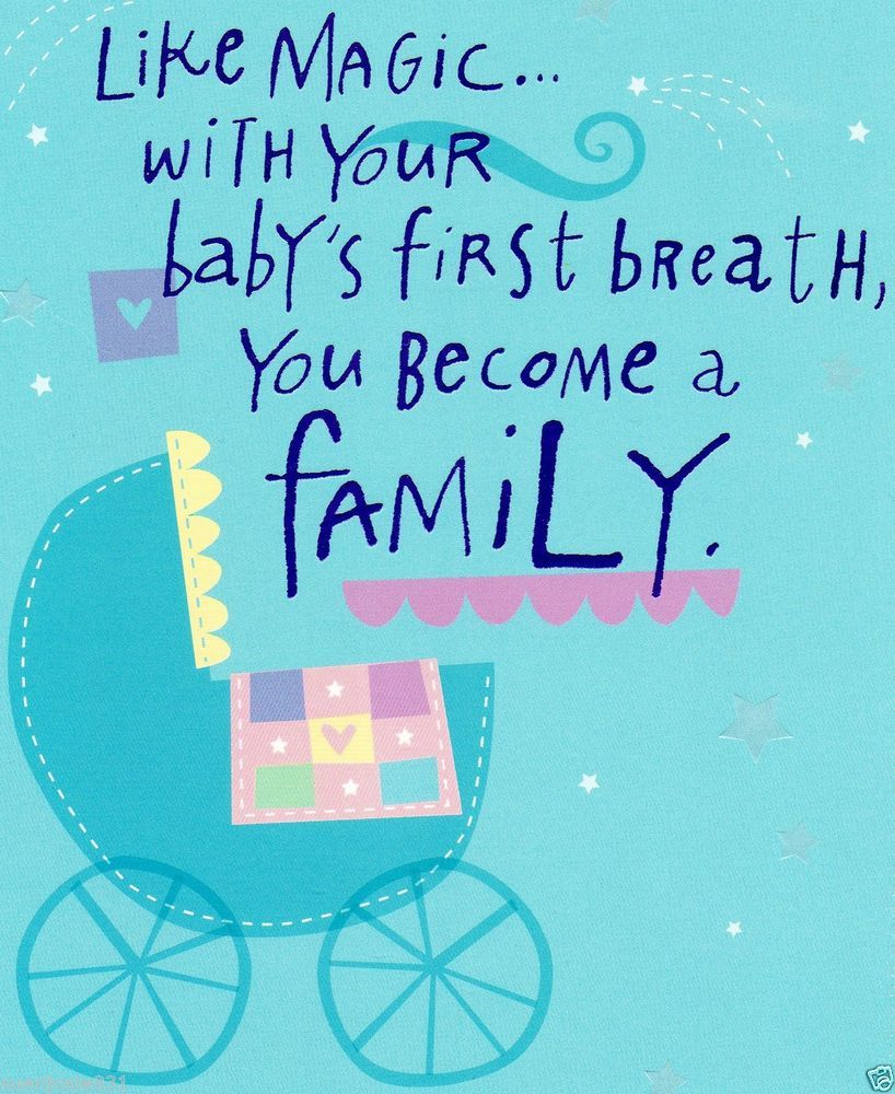 Babyshower New Baby Congratulations Greeting Card