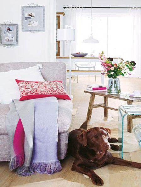 Gezielte Stilbrüche - So gelingt der moderne Romantik-Look - wohnzimmer romantisch einrichten