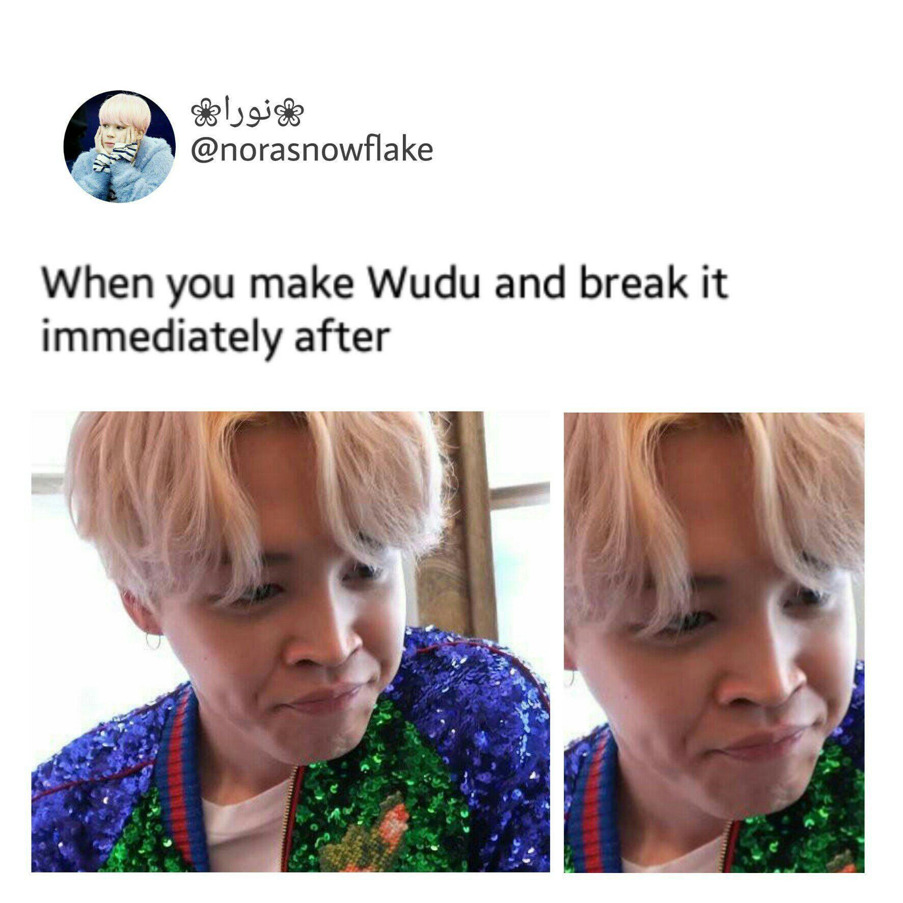 Bts muslim memes salah and wudu wattpad