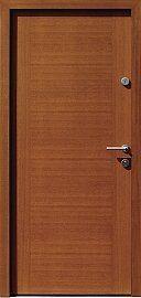 Classic wooden exterior door model 500A in color …