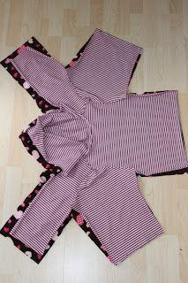 Anleitung zum Füttern und Verstürzen von Jacken                                                                                                                                                                                 Mehr #clothpatterns