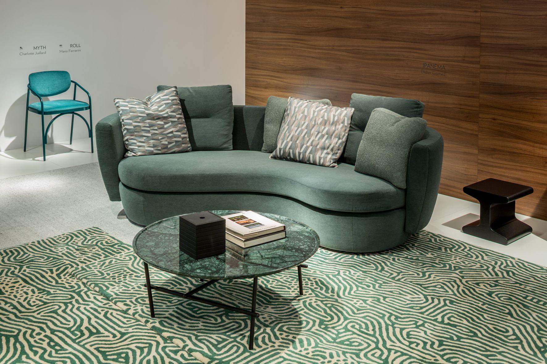 Das Sofa Ipanema Von Didier Gomez Betont Seine Umhullenden Rundungen Und Ist Voller Sanftheit Luxury Furniture Sofa Furniture Luxury Furniture
