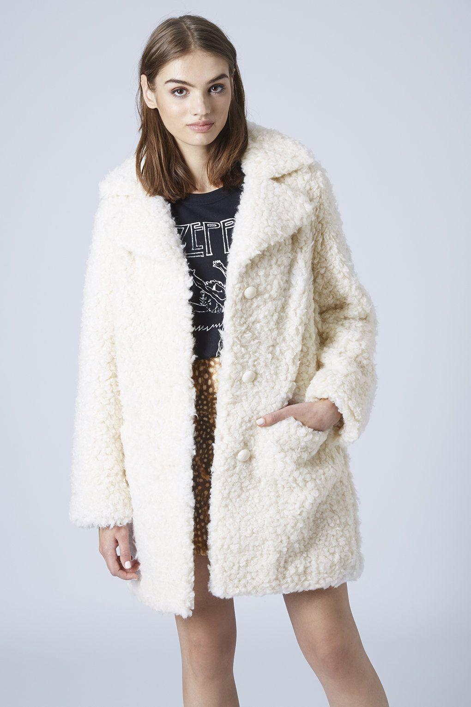presenting sneakers for cheap get cheap Photo 2 of Faux Fur Teddy Coat | Teddy faux fur coat, Faux fur car ...