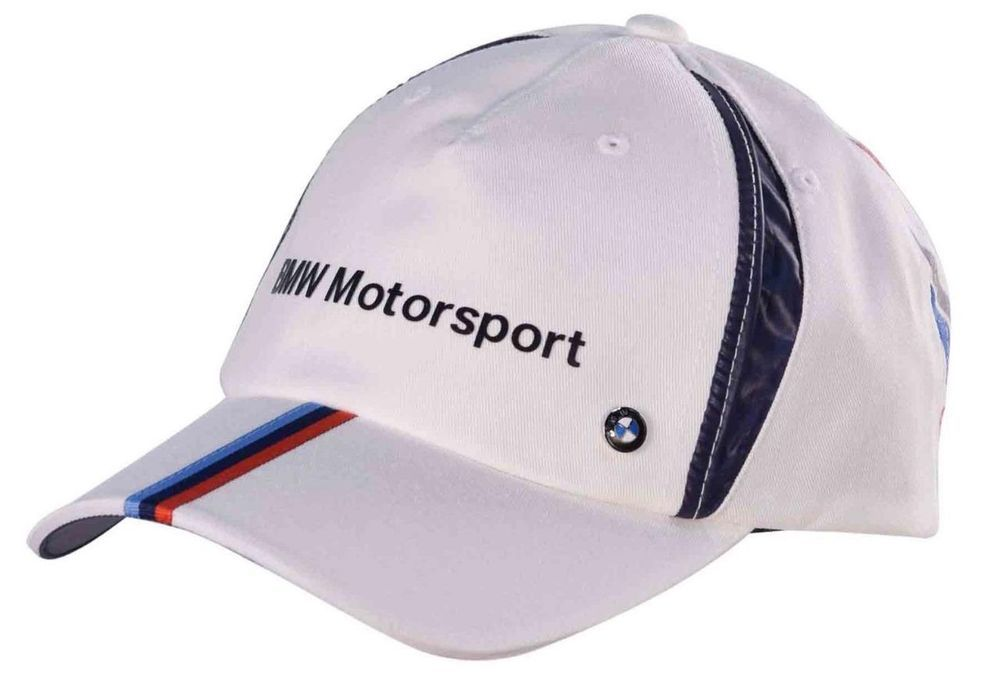 Puma Men s BMW Motorsport Racing Adjustable Fan Cap Hat-White-Adjustable~NEW~M..   PUMABMW  CAP eac7f933ee22
