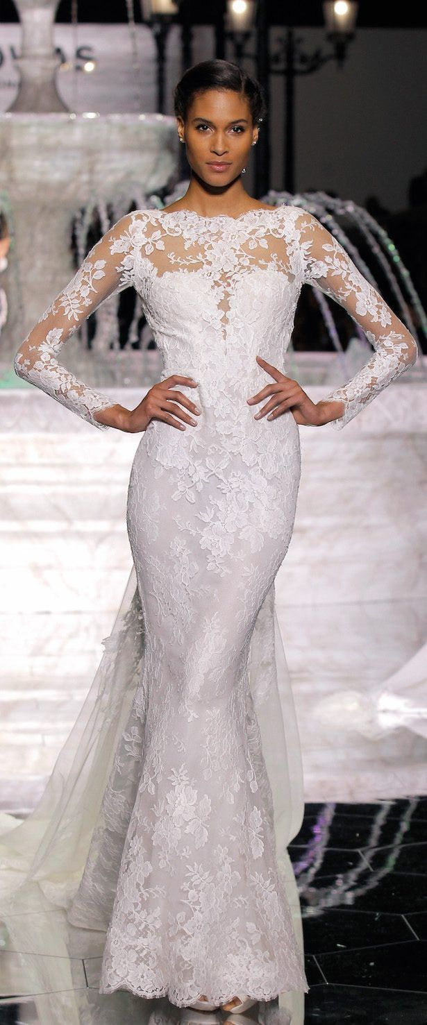 Atelier pronovias collection runway show belle the magazine