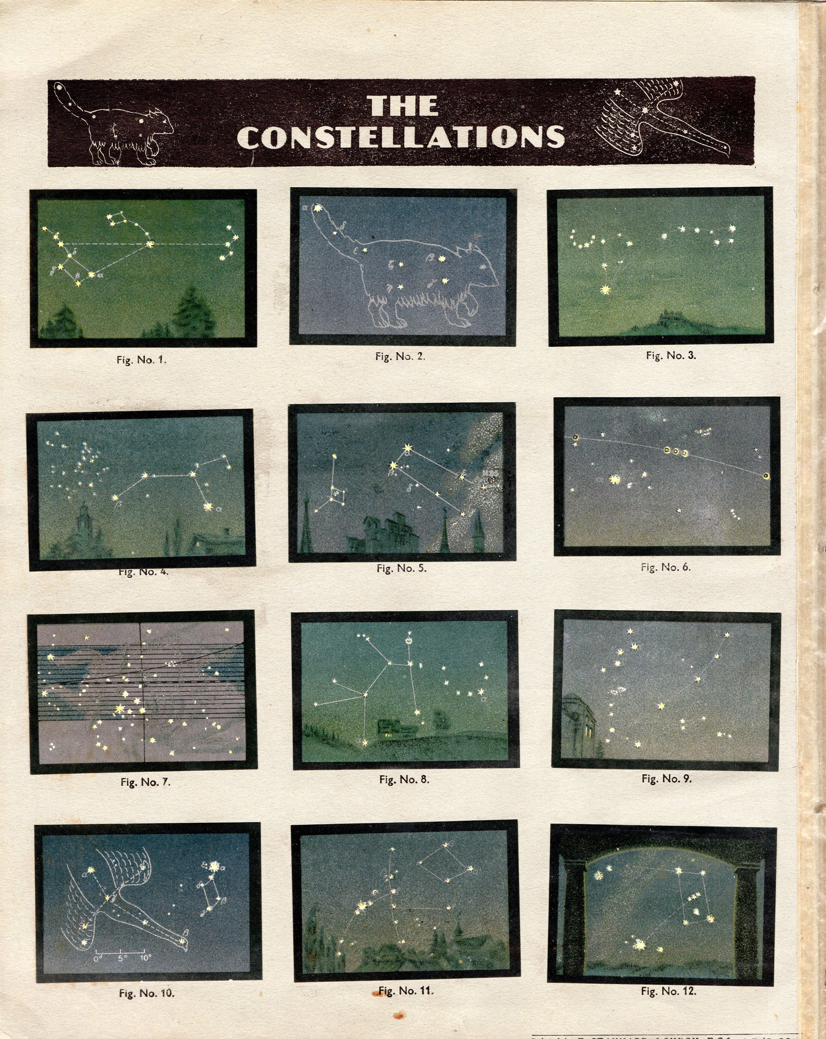 NESTLE': Wonders of the World (1932 - The Constellations)
