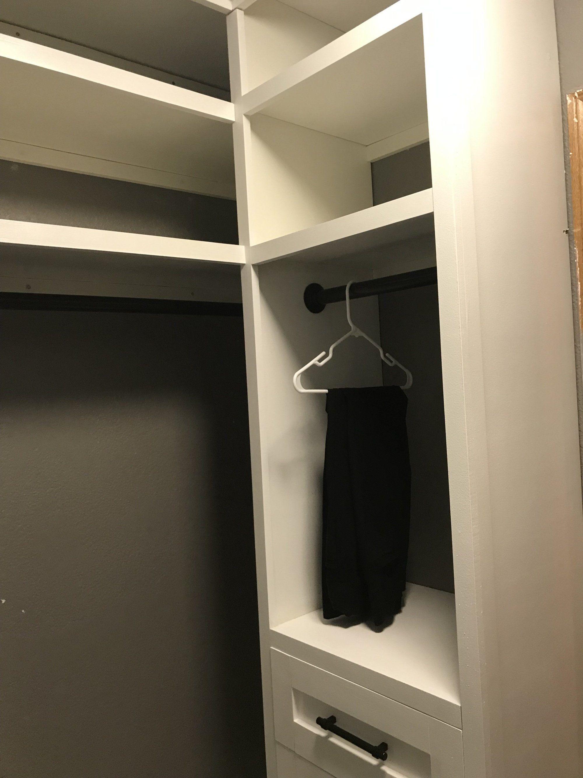 Diy Closet Organizer Built In Closet Organization Closet Organization Diy Build A Closet Closet Makeover Diy