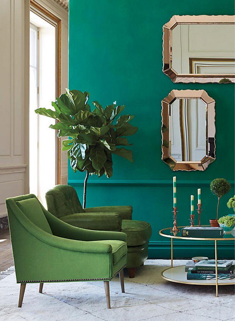 Y Verde En Tapizadas Paredes AguaSala Butacas Color WHeEY2bD9I