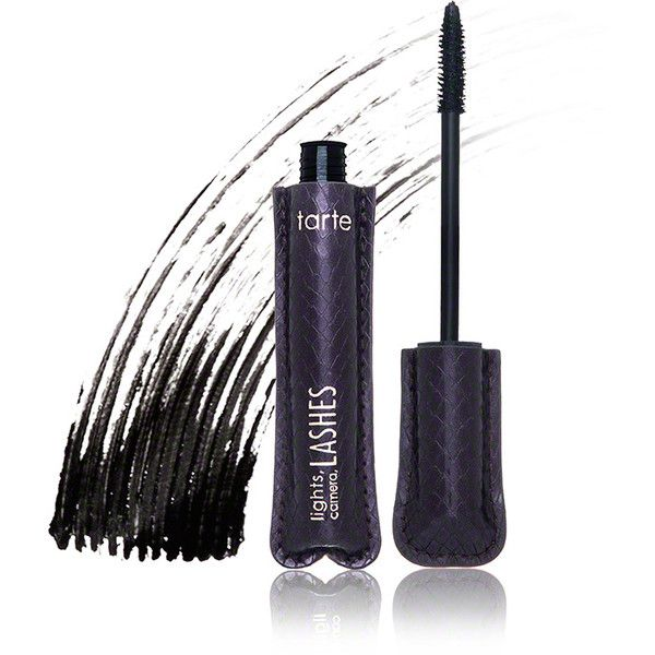 Tarte Cosmetics Lights, Camera, Lashes 4-in-1 Mascara (£15) ❤ liked on Polyvore featuring beauty products, makeup, eye makeup, tarte makeup, tarte and tarte cosmetics