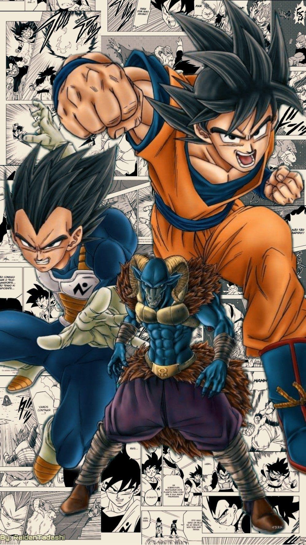 Dbs Mangá Wallpaper Made By Me Hecho Por Mi Feito Por Mim Anime Dragon Ball Super Dragon Ball Artwork Dragon Ball Art