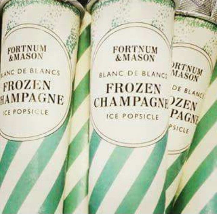 Frozen champagne popsicle #champagnepopsicles Frozen champagne popsicle #champagnepopsicles