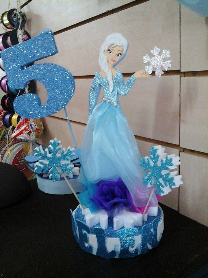 decoracion personalizada de elsa frozen pinterest