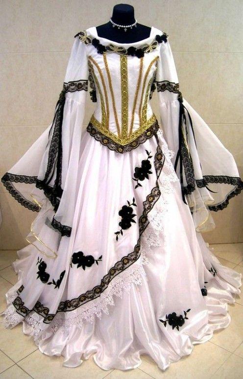 Kleider Pagan Wicca Hexe