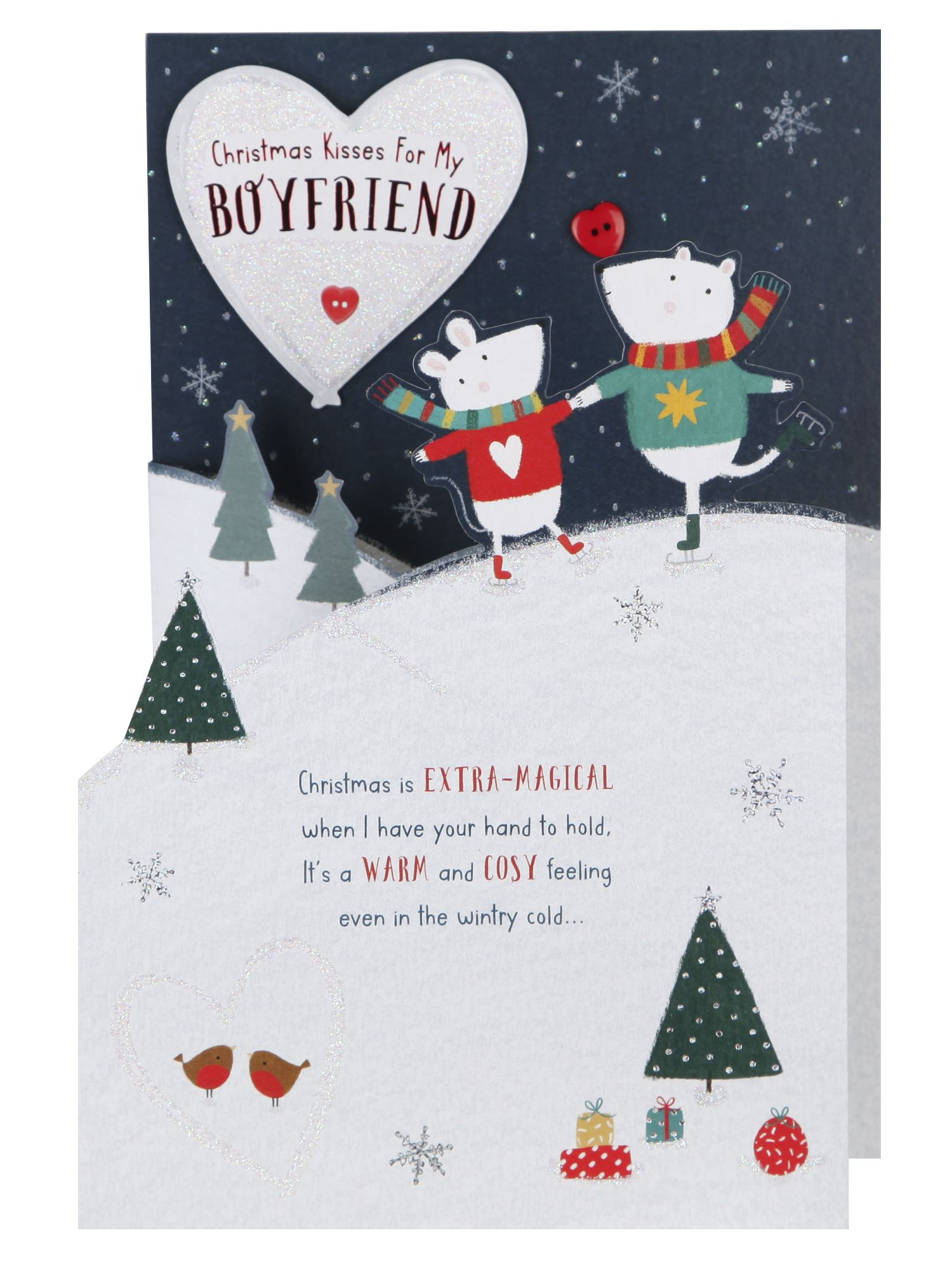 Me To You Boyfriend Christmas Card Christmas Single Cards