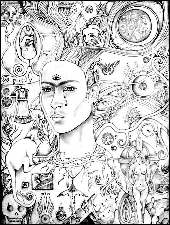 Frida kahlo wip