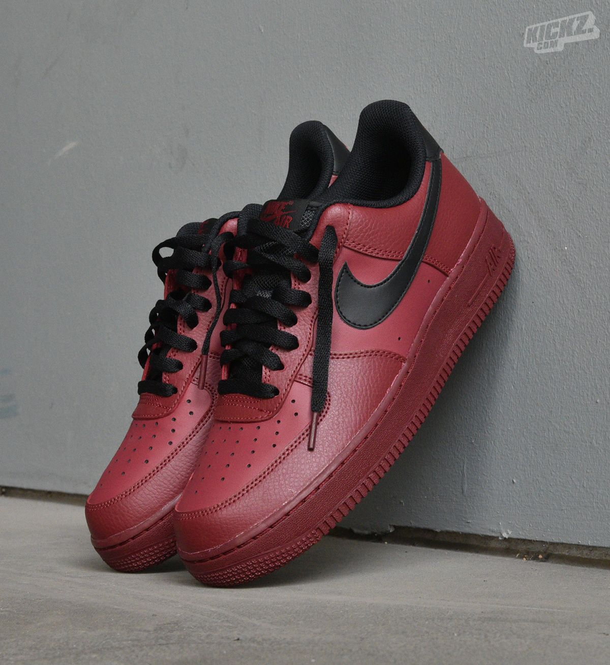 Nike Air Force 1 low (team red). The classic sneaker look of
