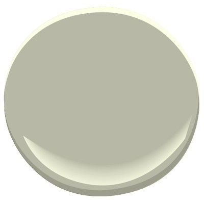 Benjamin Moore October Mist 1495 Classic Looks Much Greener In The Cfl Lighting Paint Colors House Colors Grey Paint