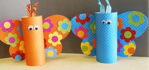 Manualidades Con Rollos De Papel Higienico 11 Toilet Paper Rolls - Manualidades-rollos-papel
