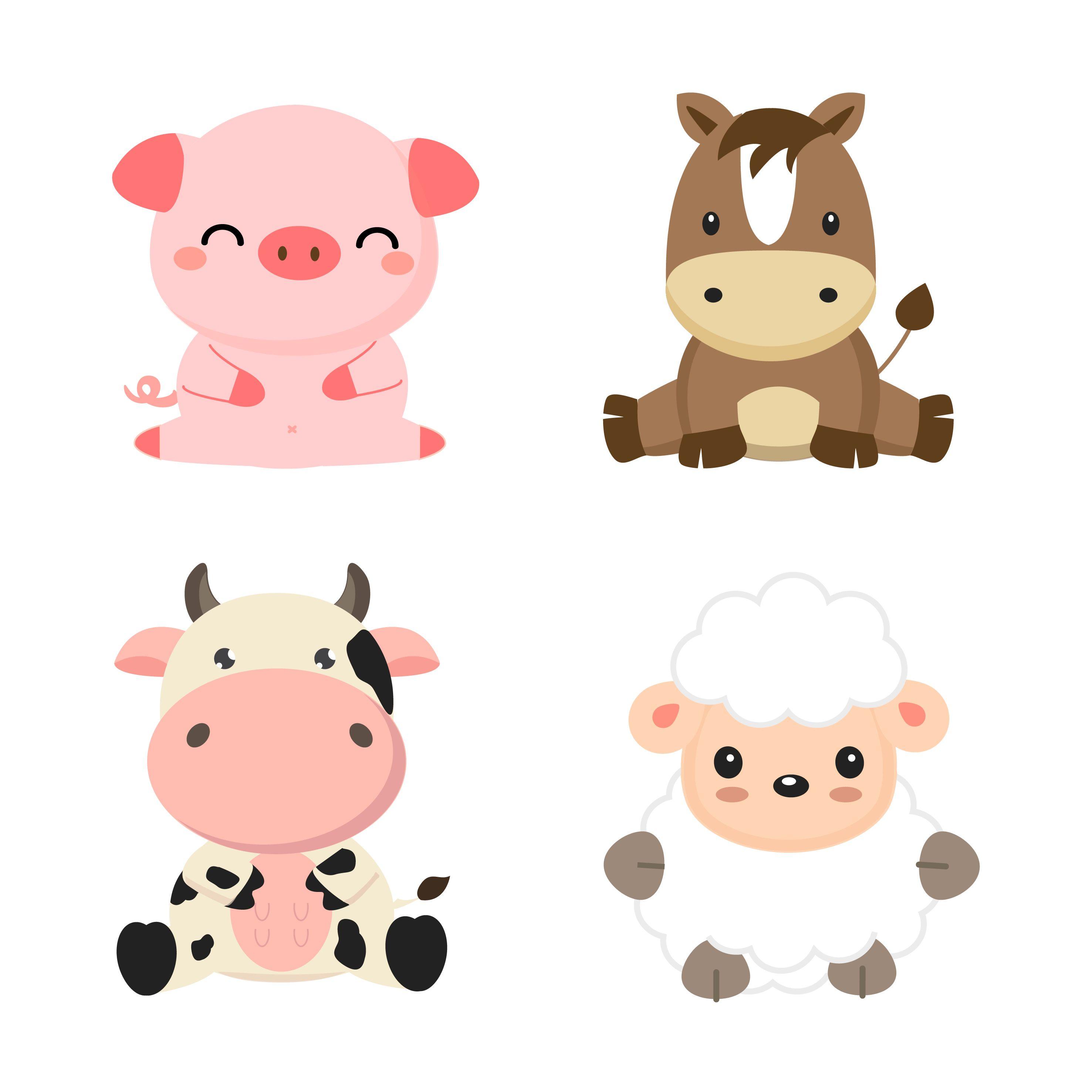 190 Ideas De Animales De Granja En 2021 Animales De La Granja Animales Cumpleaños De Granja Decoracion