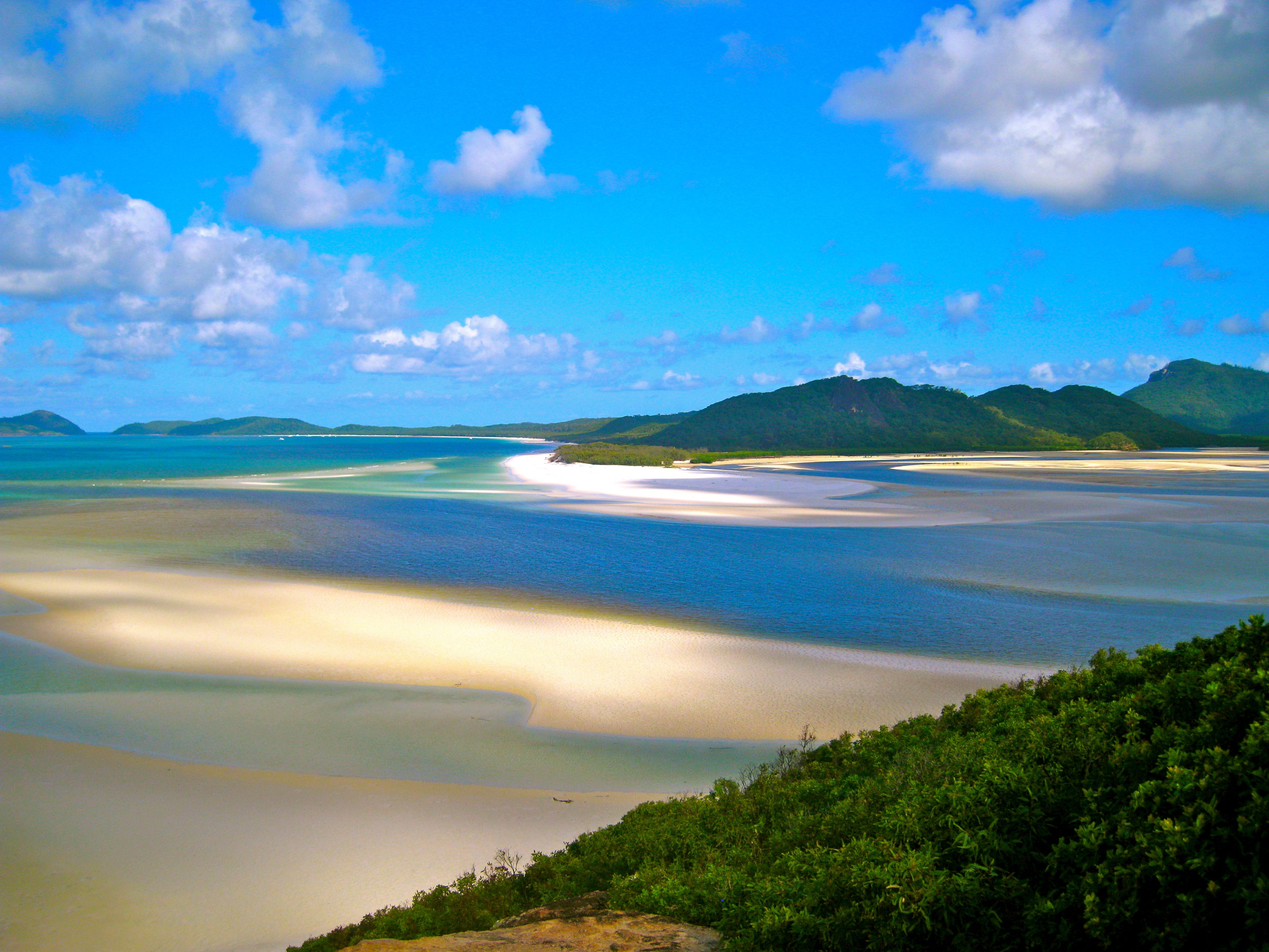 Hill Inlet on the Whitsunday Islands, Australia