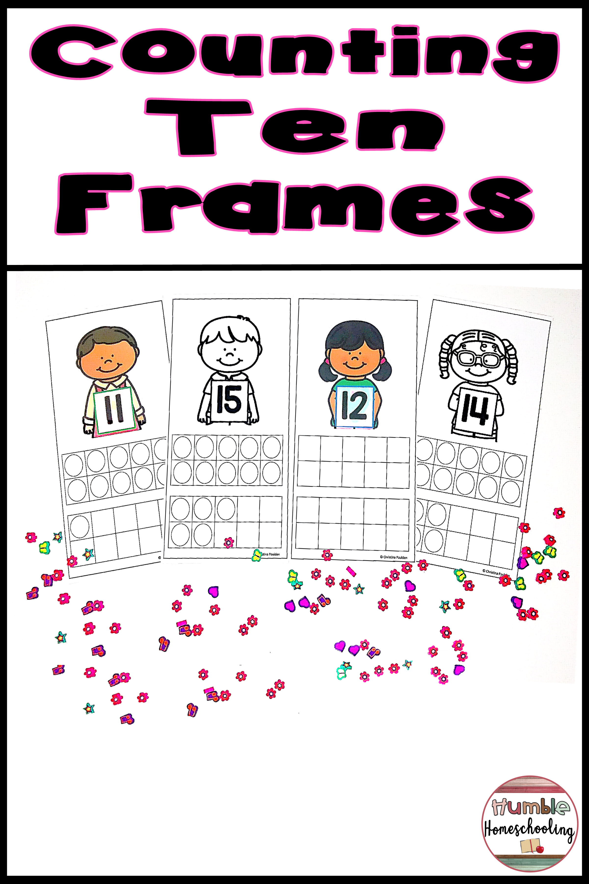 Back To School Ten Frames To 20